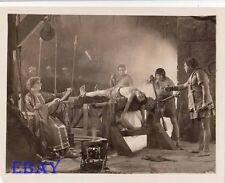 Barechested Man on rack VINTAGE Photo Ben Hur 1926