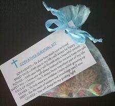 GODFATHER Survival Kit GIFT For GODPARENTS CHRISTENING Baptism keepsake novelty