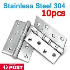 10PCS STAINLESS STEEL DOOR HINGES 304 grade 100*75*2.5MM BUTT HINGE Heavy duty