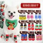 4PCS Anti-Slip Knit pet Dog cat Socks Claw Protector Suitable for Small Dogs Cat