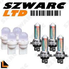 h7 xénon SUPER BLANC 55W ampoules Trempé faisceau 12v phare lumière LED x 4