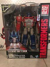 Hasbro Transformers Titans Return Powermaster Optimus Prime Complete Leader Box1