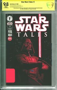 Star Wars Tales #1 CBCS 9.8 (1999) Signed by 7 of the Dark Horse team - RARE