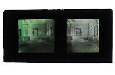 France Une Villa à identifier Autochrome Lumière Stéréo Grand Format 8x17 cm