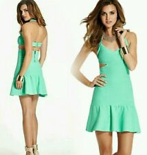 NWT Guess Green Scuba Cut-Out Dress size XS