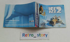Nintendo Game Boy Advance GBA Ice Age 2 Notice / Instruction Manual