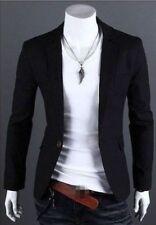 New Stylish Men's Casual Slim Fit One Button Suit Blazer Coat Jacket Top