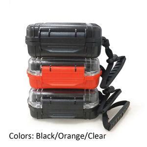 IEM Hard Case Waterproof In Ear Monitor Earphone Case Storage Box for Earbuds