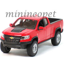 MAISTO 31517 2017 CHEVROLET COLORADO ZR2 PICK UP TRUCK 1/27 DIECAST MODEL RED