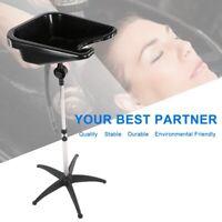 Portable Salon Hair Shampoo Basin Washing Tray Adjustable Equipment Beauty Bowl