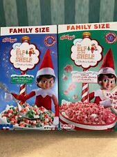 The Elf on the Shelf Breakfast Cereal Sugar Cookie or Candy Cane Cookie RARE