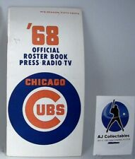 1968 CHICAGO CUBS MEDIA GUIDE - MID SEASON EDITION -