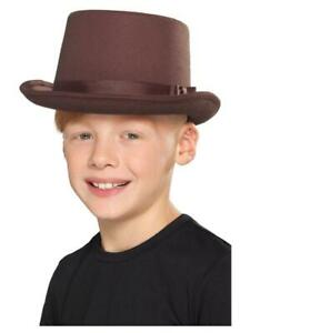 Kids Top Hat Showtime Fancy Dress Party Accessory