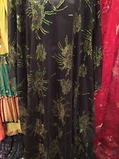 Vintage Hand Made Khaleeji Dress &  Cover Up Free Size  Made In Egypt