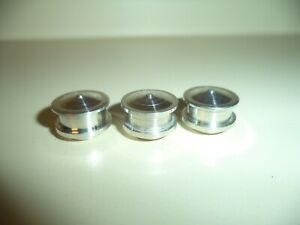 RISKEY CONCEPTS ALUMINUM KYOSHO USA 1 AIR BREATHERS SET OF 3 NEW CARB AIR CLEAN