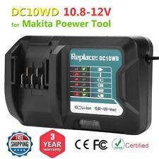 Fast Battery Charger For Makita 10.8V-12V DC10WD DC10SB DC10WC BL1015 BL1016 US