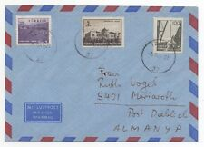 1963 TURKEY Air Mail Cover IZMIR to MARIAROTH GERMANY