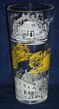 Vintage VIRGINIA Land Marks souvenir Drinking Glass