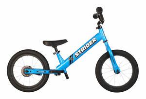 NEW Strider 14x Sport Balance Bike - Blue