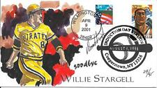 "WILD HORSE HP PITTSBURGH PIRATES WILLIE STARGELL ""GOODBYE""  DOD  Sc 3085, 3469"