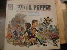 """SALT & PEPPER"" Vinyl LP Sammy Davis Jr.  1967 Movie Soundtrack Jack Davis Art"