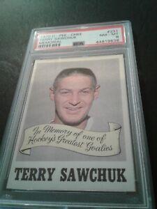 1970-71 opc # 231 Terry Sawcuk Memorial  Psa 8