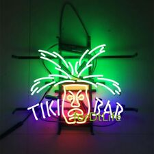 "17""x14"" RETRO TIKI BAR Totem Pole Beer Bar Pub Artwork Display NEON LIGHT SIGN"