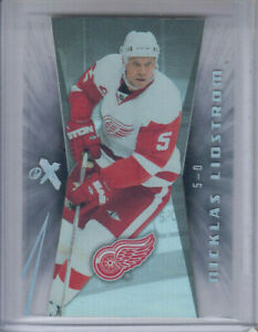 08/09 Fleer Ultra Detroit Nicklas Lidstrom Ex Essential Credentials card #ex26