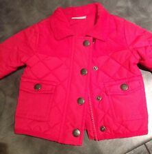 Next Baby Girls Red Coat - Up To 1 Month