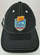 Sahlen's Six Hours Of The Glen 2014 Black One Size Adult Strap Back Baseball Hat