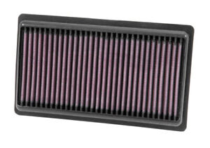 K&N Replacement Panel Air Filter for 2014-2015 for Infiniti Q50 3.5L/3.7L V6 (2