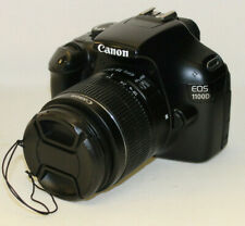 (wi1) Canon EOS 1100D 18-55mm EF-S Lens With Box, Battery & Charger