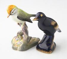 Lot of 2 Porcelain Bird Figurines (Staffordshire & Limoges), Great Condition!