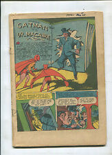 CATMAN COMICS #28 COVERLESS HARD TO FIND GOLDEN AGE!