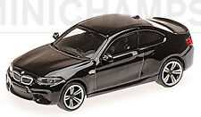 BMW M2 F87 Coupè 2016 Nero 1:87 Minichamps