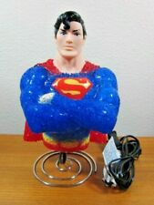 SUPERMAN LAMP NIGHT LIGHT POPCORN TEXTURE TESTED WORKS GREAT!