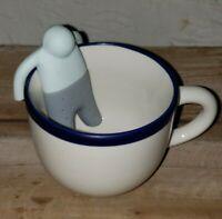 Silicone Tea Strainer Interesting Life Partner Cute Mister Teapot MR Little Man