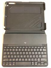 Logitech Slim Folio Bluetooth Keyboard Case for iPad 5th Gen Black