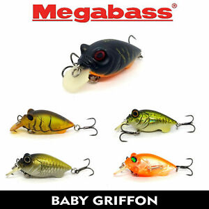 Megabass Baby Griffon 3,78cm 5,3g Fishing Lures (Choice Of Colors)