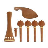 Ensemble de Pièces de Violon Accessoires de Bricolage pour Luthier 4/4