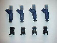 4 Genuine Bosch 42lb 440cc fuel injectors for Honda Audi VW Mazda Ford Toyota