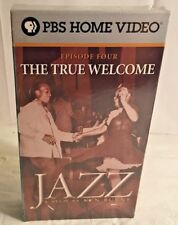 PBS Home Video JAZZ Ken Burns Episode 4 The True Welcome Sealed VHS