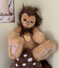 Charlie Bears 2009 Extremely Rare Leo Lion ,  Tags . Last Listing
