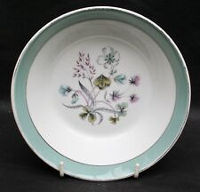 Midwinter Fine China Cereal Soup Bowl -  Mayfield Pattern 1950s 60s. Retro