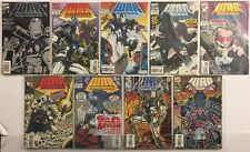War Machine #s 1-6, 8, 11, 12 Marvel Comic Books Lot of 9 VF 8.0 to VF/NM 9.0