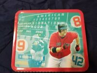 2006 Red Sox Hood Kid Nation Metal Lunch Box GREAT Condition