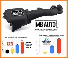 Banks Power Ram-Air Cold Air Intake 18 19 20 Jeep Gladiator JT 3.6L Cleanable