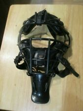 Wilson A3054 Catchers Mask Leather/Vinyl Made in Taiwan