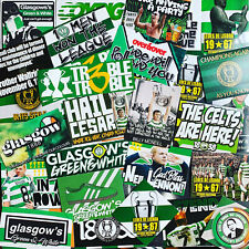 100 x Celtic Ultra Style Stickers inspired by Poster Programme Lisbon Lion