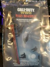 Call Of Duty: WW2 WWII Valor Edition Nazi Zombies Bloodraven Sword Pin Only